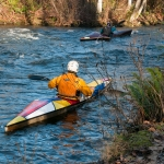 Kayaking Upstream, Ann Chaikin. Photo provided courtesy of the City of Bellingham.