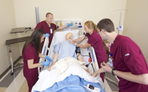 Whatcom Community College nursing students