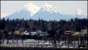 View from Boulevard Park, David Veatch. Photo provided by the City of Bellingham.