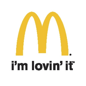 McDonalds im loving it logo