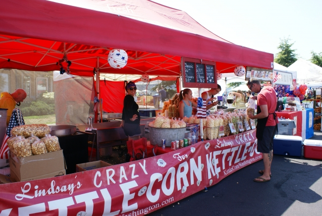 Lindsey's Crazy Kettle Corn will be back at this year's 4th of July celebration!